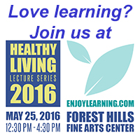 Harvest Health Foods will be at the Healthy Living Lecture Series