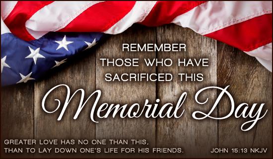 Memorial Day - 2016